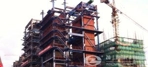280 ton cfb boiler