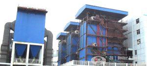 low NOx CFB boiler