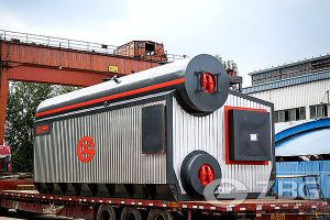 package gas oil water tube boiler